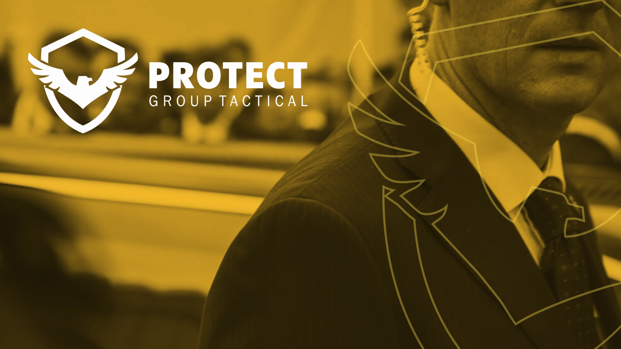 Identidade visual Protect Group Tactical