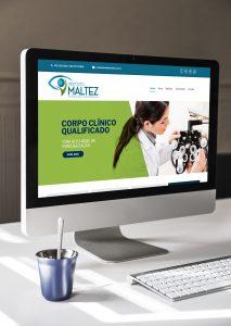Identidade visual Instituto Maltez - Oftalmologia e Endocrinologia