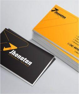 Impressão de cartões de visita gráfica taquara