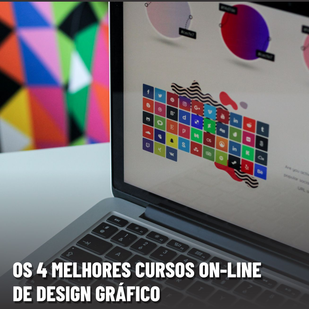 Curso de design gráfico: Os 4 melhores cursos on-line de design
