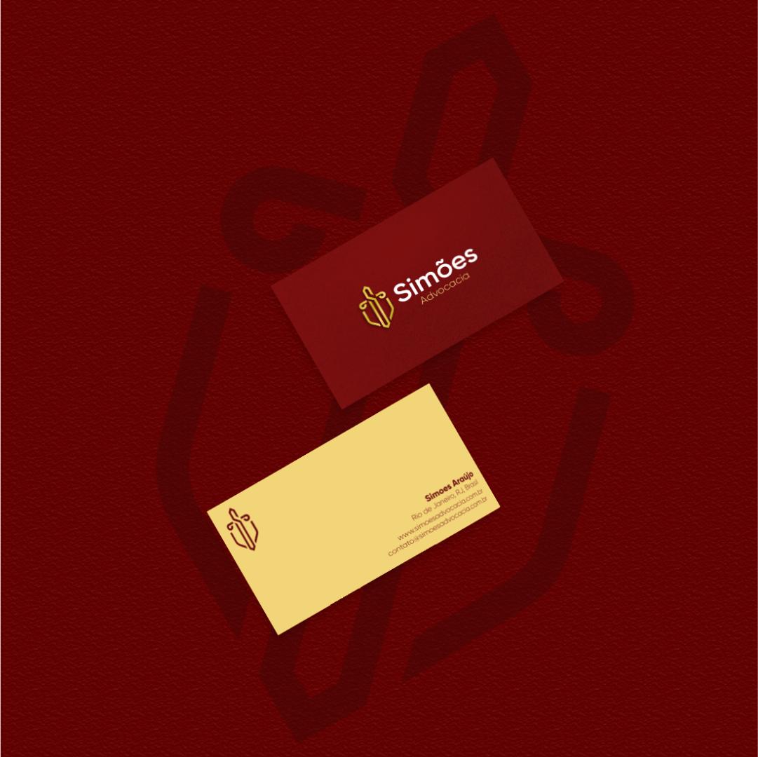 cartão de visita advogados