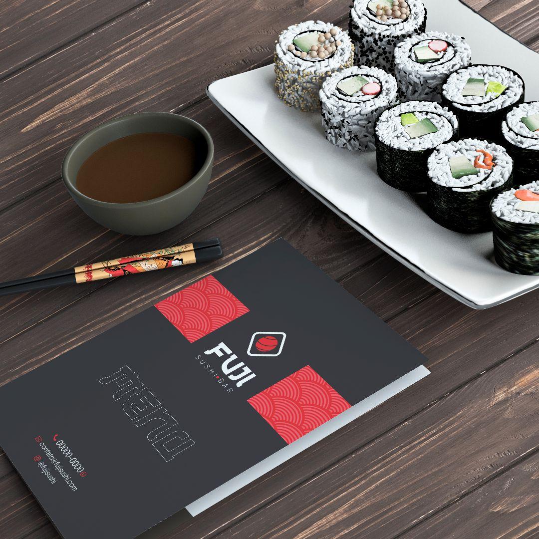 Cardápio comida japonesa