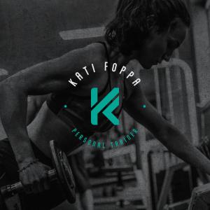 logotipo da personal trainer Kati Fopa