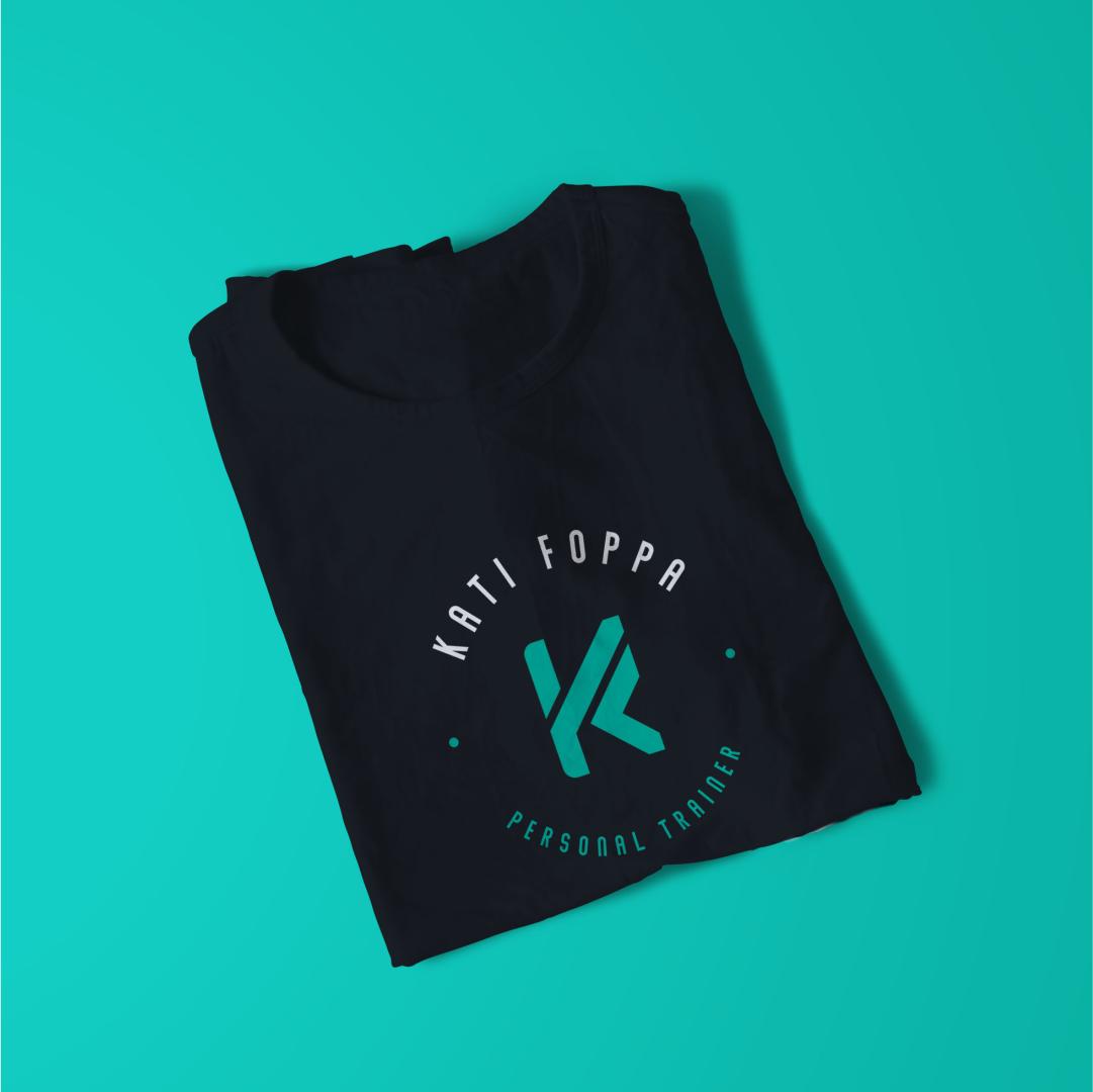 Camisa da personal trainer Kati Fopa