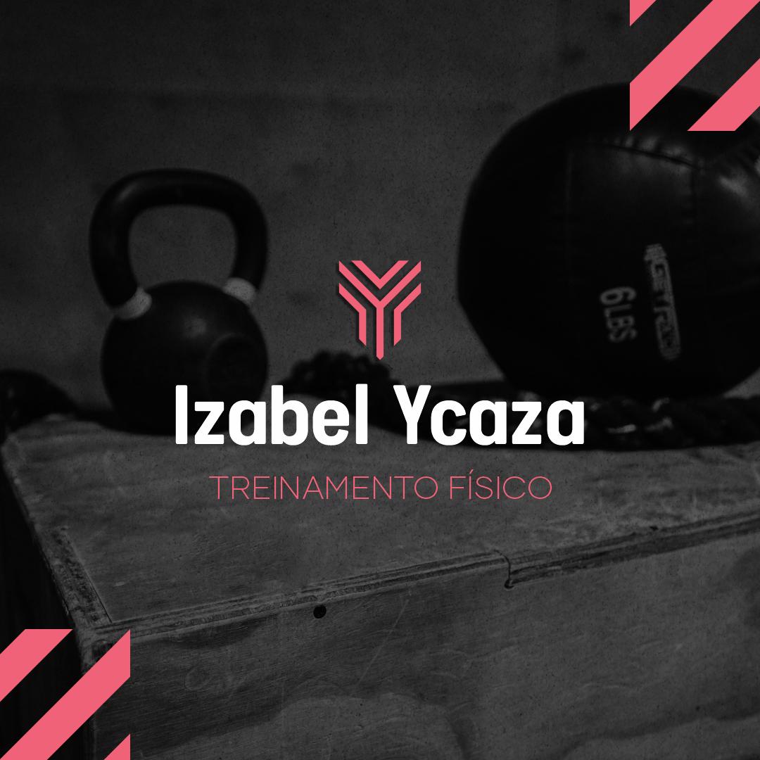 Logo Izabel Ycaza personal trainer