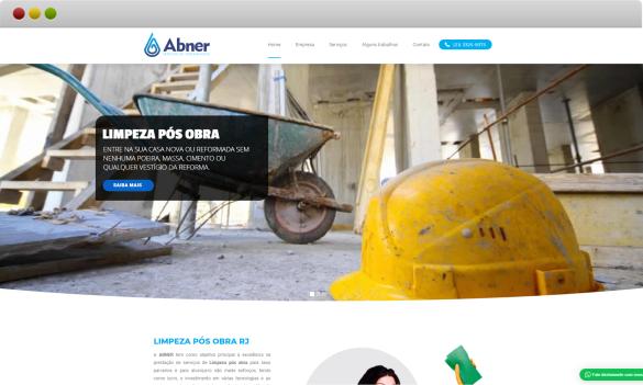 criação de site Abner serviços terceirizados