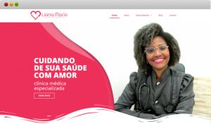 criação de site clinica médica dra. Liana