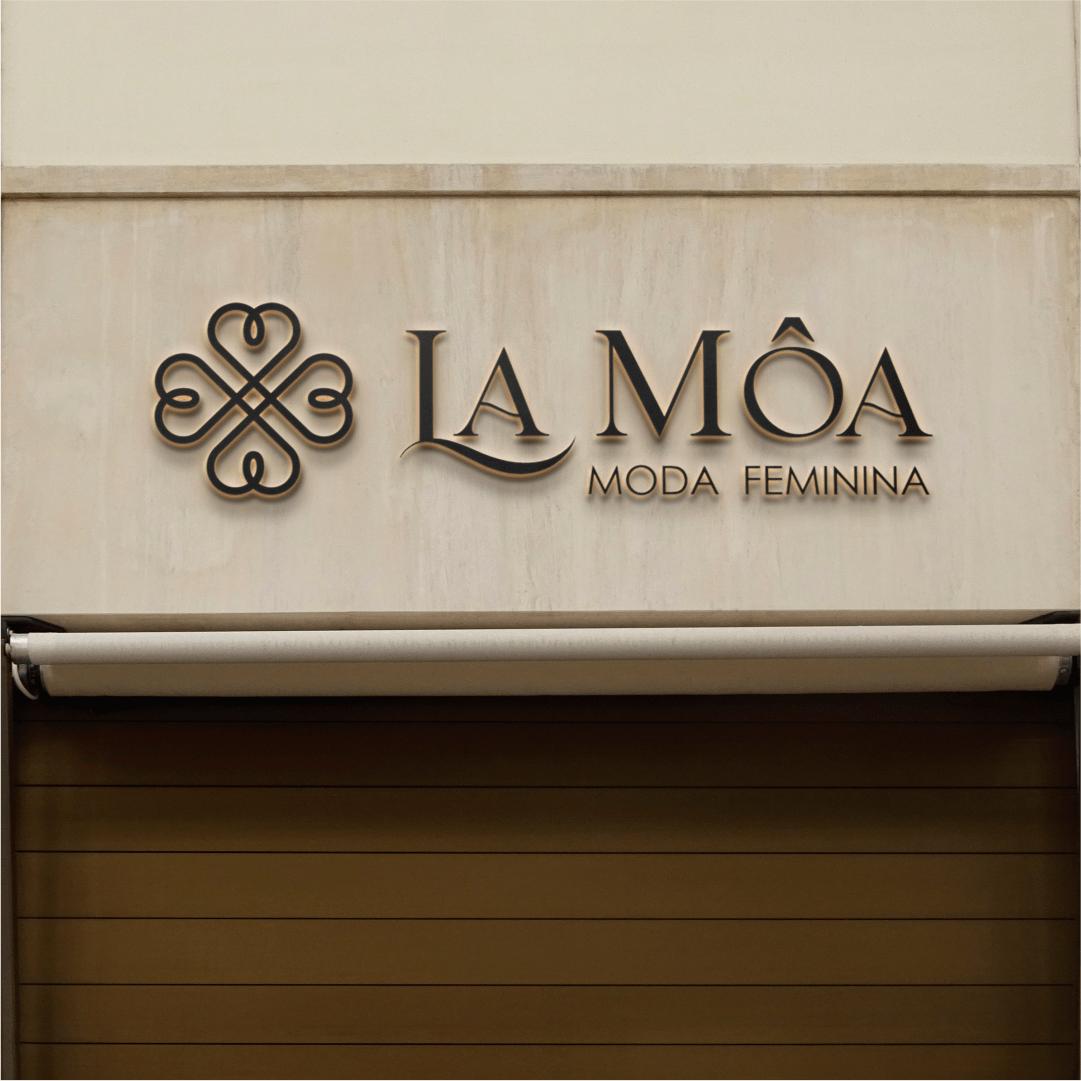 Logotipo loja de roupas